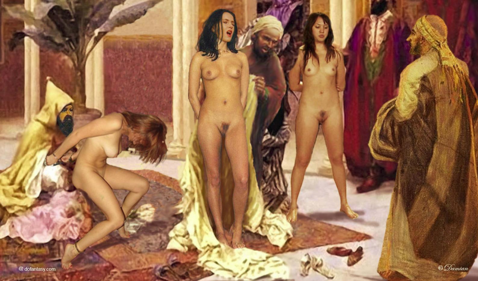 Lesbian haremslave pic