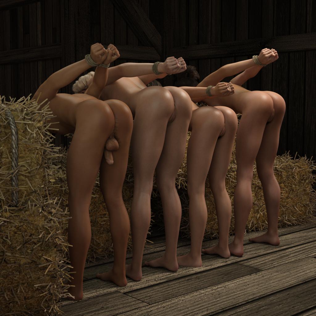 3D Digital Bdsm auction – exquisite slave