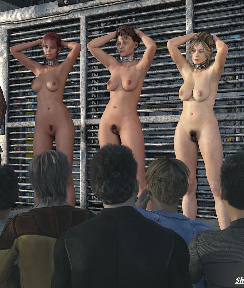 Auction nude slave Slave auction